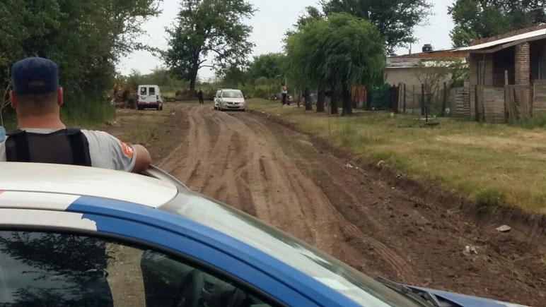 Imagen del operativo policial en la zona de Arenales y Echeverría.