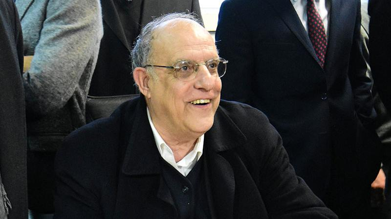 """""""De la reunión salí fortalecido"""", dijo Bermúdez tras reunirse con Lifschitz."""