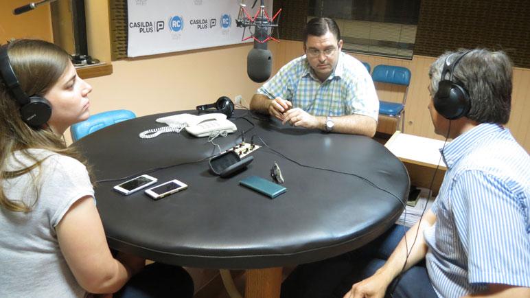 Sarasola hizo un balance de 2016 en Radio Casilda.