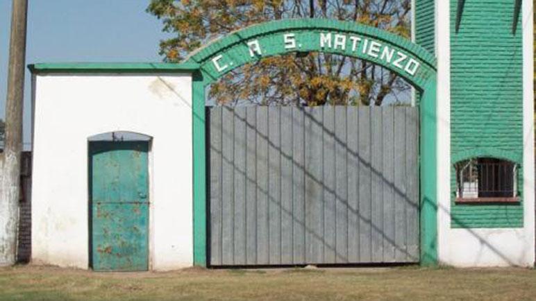 La entrada de la vieja cancha de Matienzo.