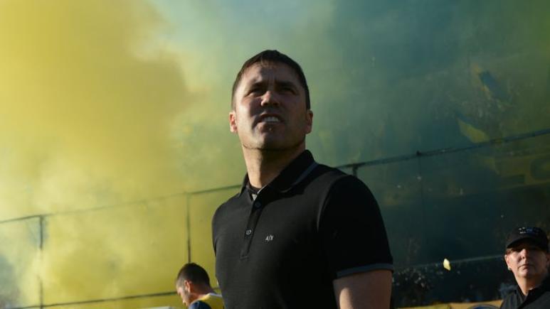 El Chacho lamentó el empate pero destacó el debut de varios juveniles. (Foto: RC Oficial)