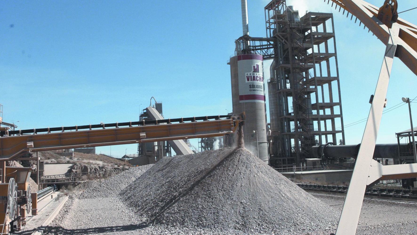 La desaceleración de la producción cementera marca el ritmo de la economía.