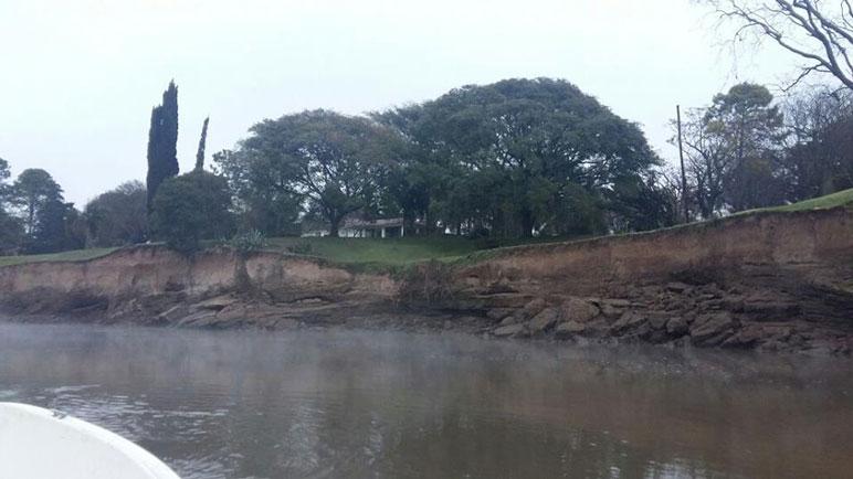 Buscan evitar crecidas que perjudiquen a los pueblos cercanos al río.