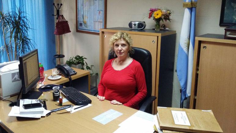 Silvia Belino, gerente de Banco Nación sucursal Casilda.