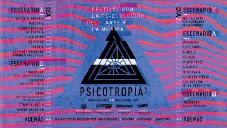 La entrada y la grilla del festival que se realiza en Carcarañá.