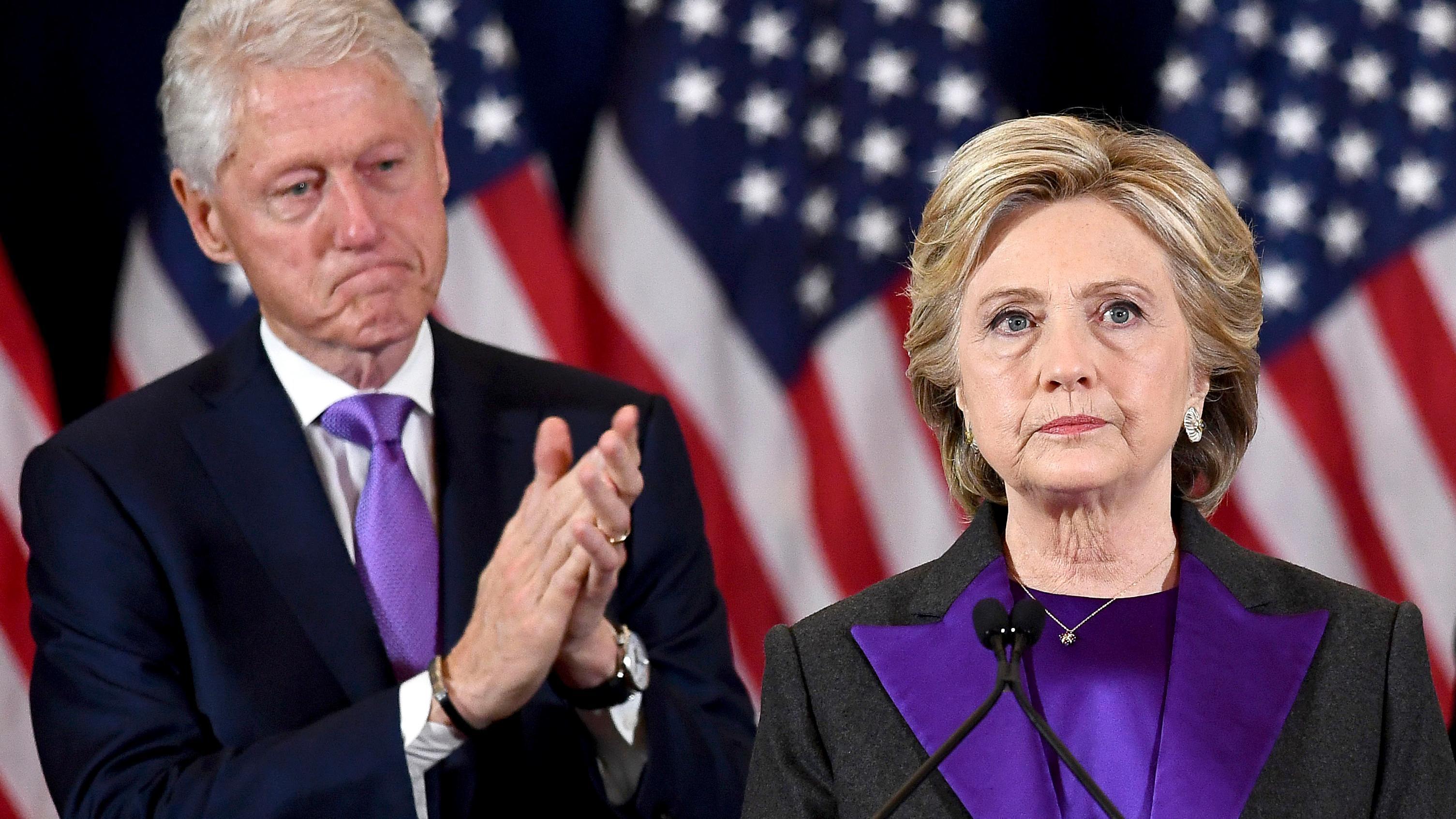 La candidata por el Partido Demócrata admitió que el resultado electoral fue doloroso.