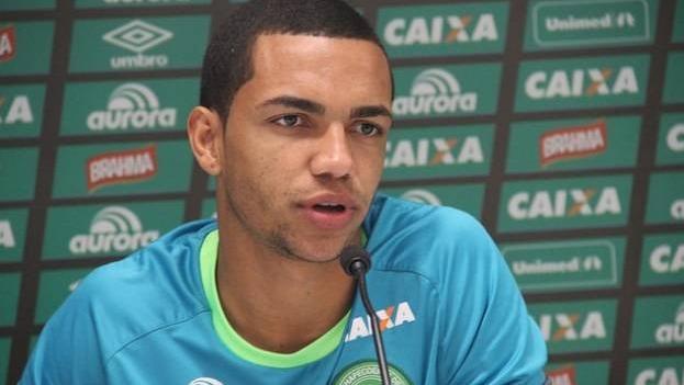 """Tiago Da Rocha Vieira, """"Tiaguinho"""", de 22 años, se enteró que sería papá antes del vuelo."""