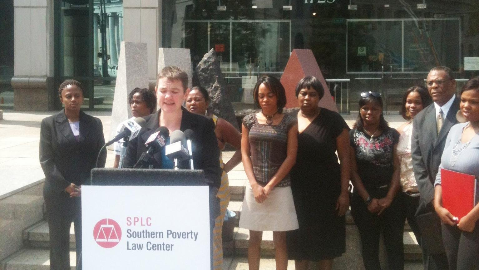 Durante la conferencia de Southern Poverty Law Center (SPLC).