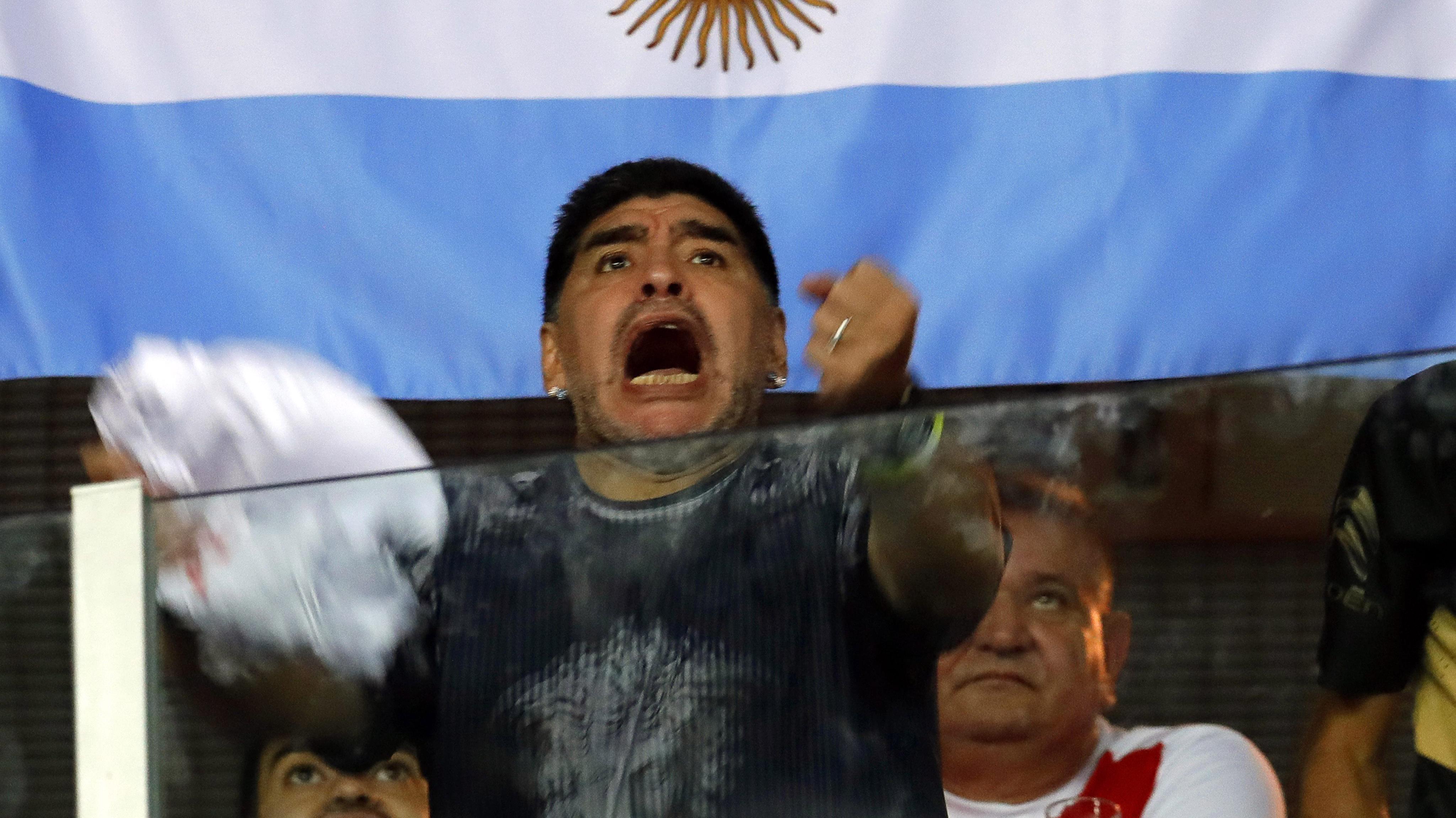 Una vez más, Maradona le cerró la boca a varios (EFE)