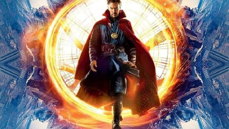 """""""Doctor Strange"""", Hechicero Supremo, se proyecta en la pantalla del Libertador."""