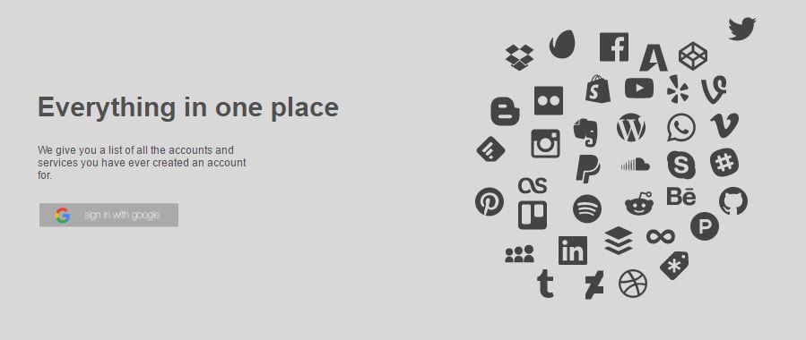 """Basta de todo. La nueva web permite """"borrarse"""" del mundo"""