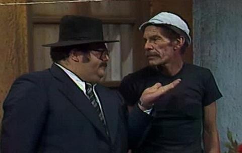 El señor Barriga y Don Ramón, y la conflictiva relación de inquilino y propietario llevada al paroxismo.