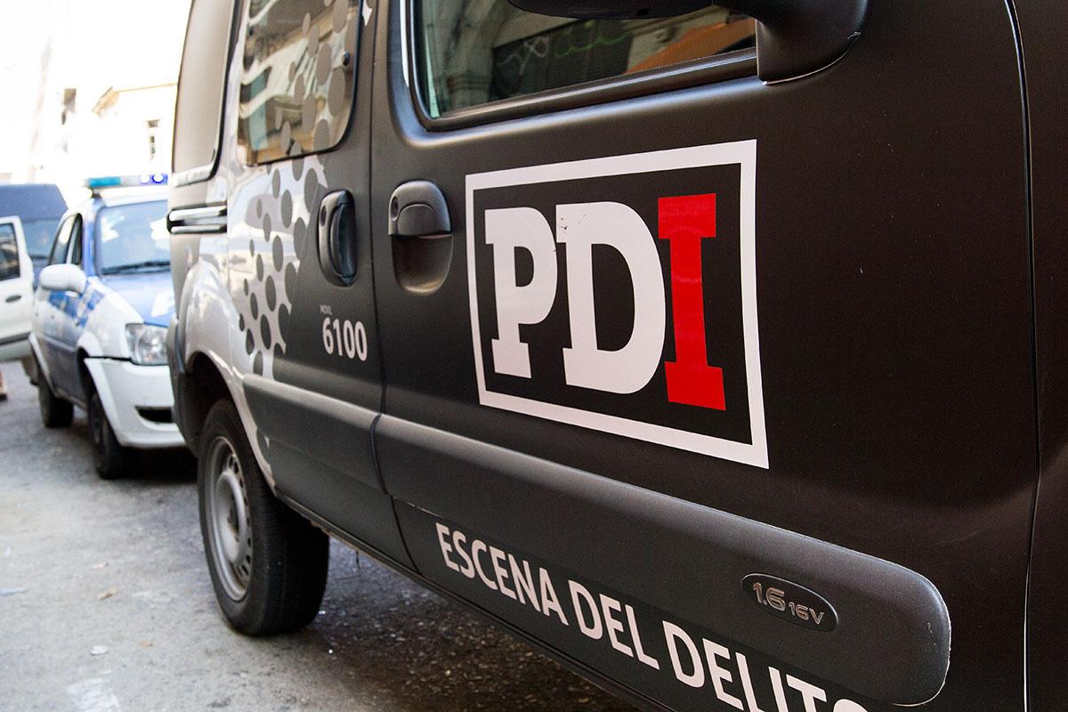 La PDI llevó a cabo el allanamiento en Rosario.