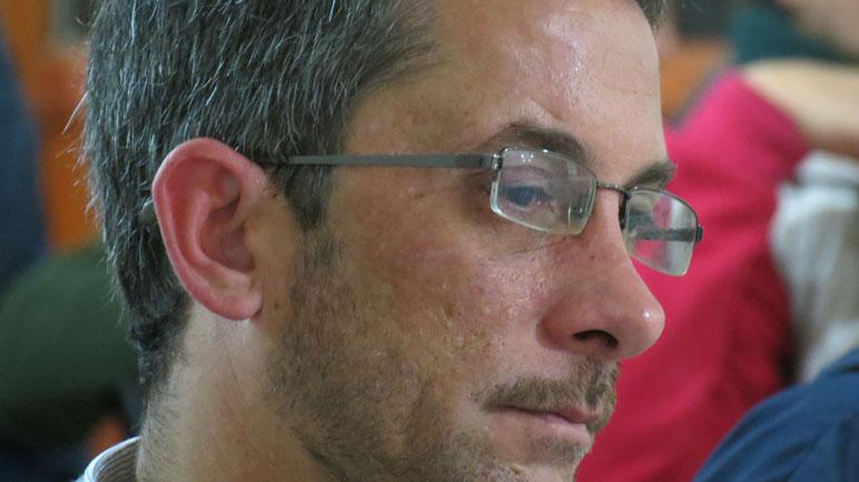 El funcionario Pablo Tomat.