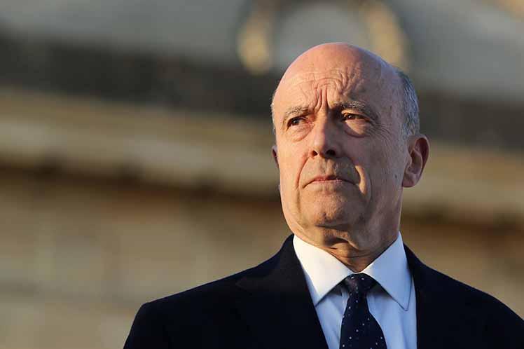 El conservador Juppé, alcalde de Burdeos, era el favorito.