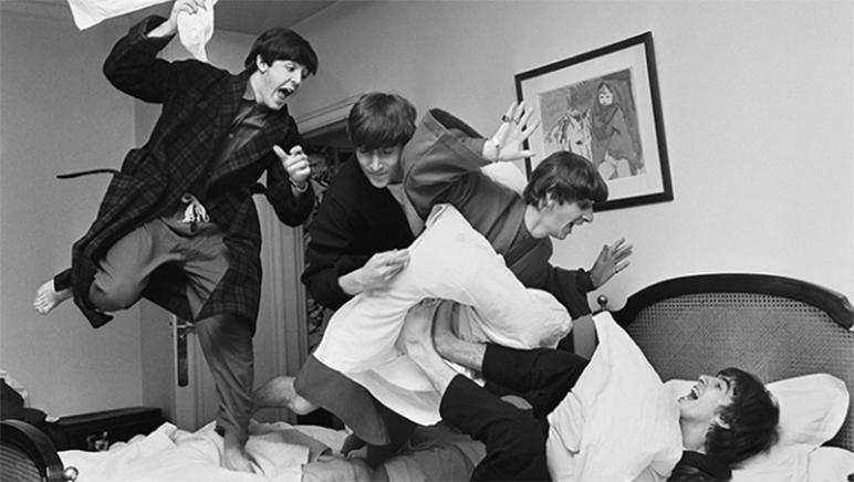 Los Beatles y una selfie entre las 100 fotos más relevantes