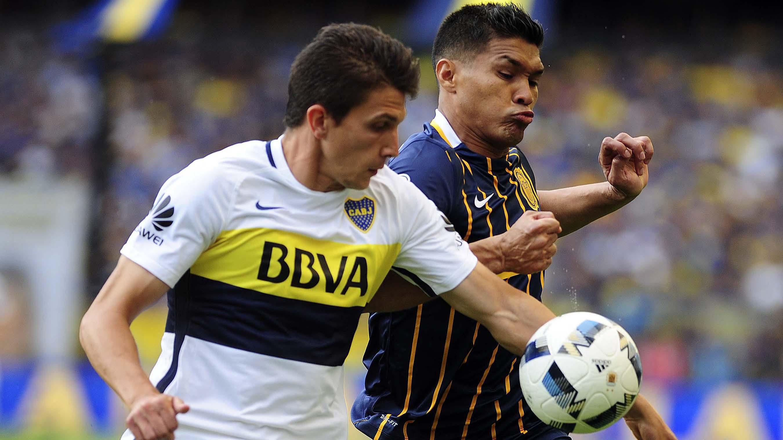 Boca y Rosario Central empataron 1 a 1