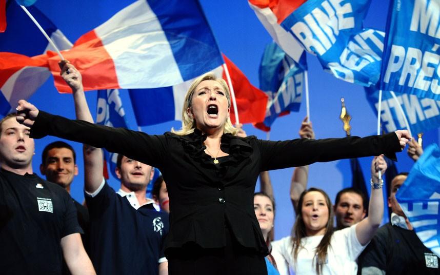 La derechista Marine Le Pen encabeza los sondeos previos (EFE)