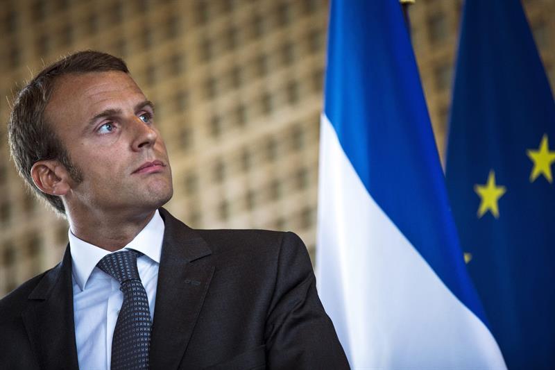 El ex ministro Macronlanzó su candidatura presidencial (EFE)