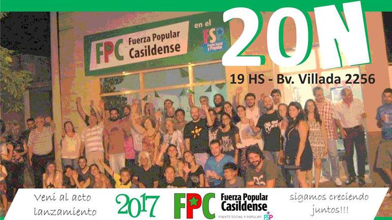 Este domingo, la FPC tiene su plenario en la sede de Bv. Villada.