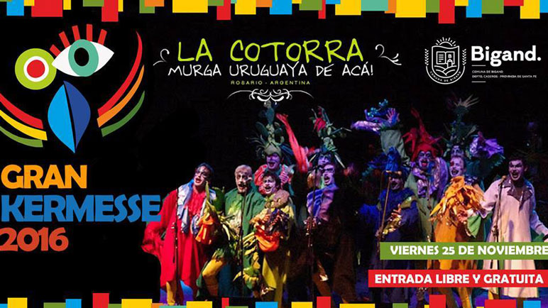 El viernes se presentan los rosarinos de La Cotorra Murga.