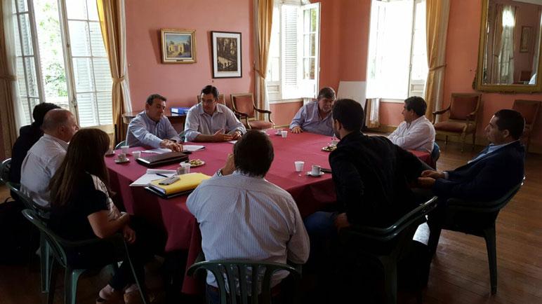 La reunión realizada en el municipio casildense.