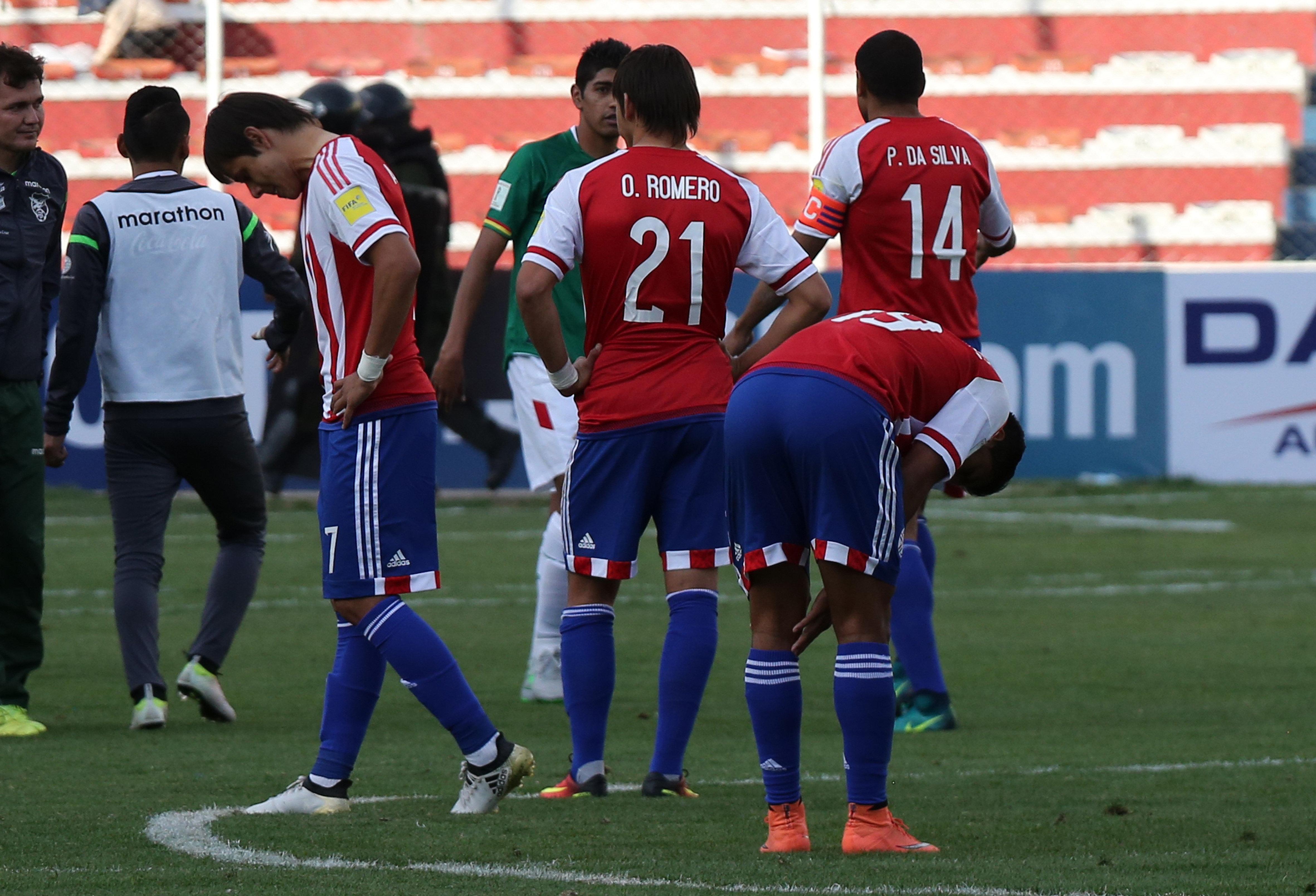 Paraguay cayó en La Paz y se aleja de los puestos de clasificación (EFE)