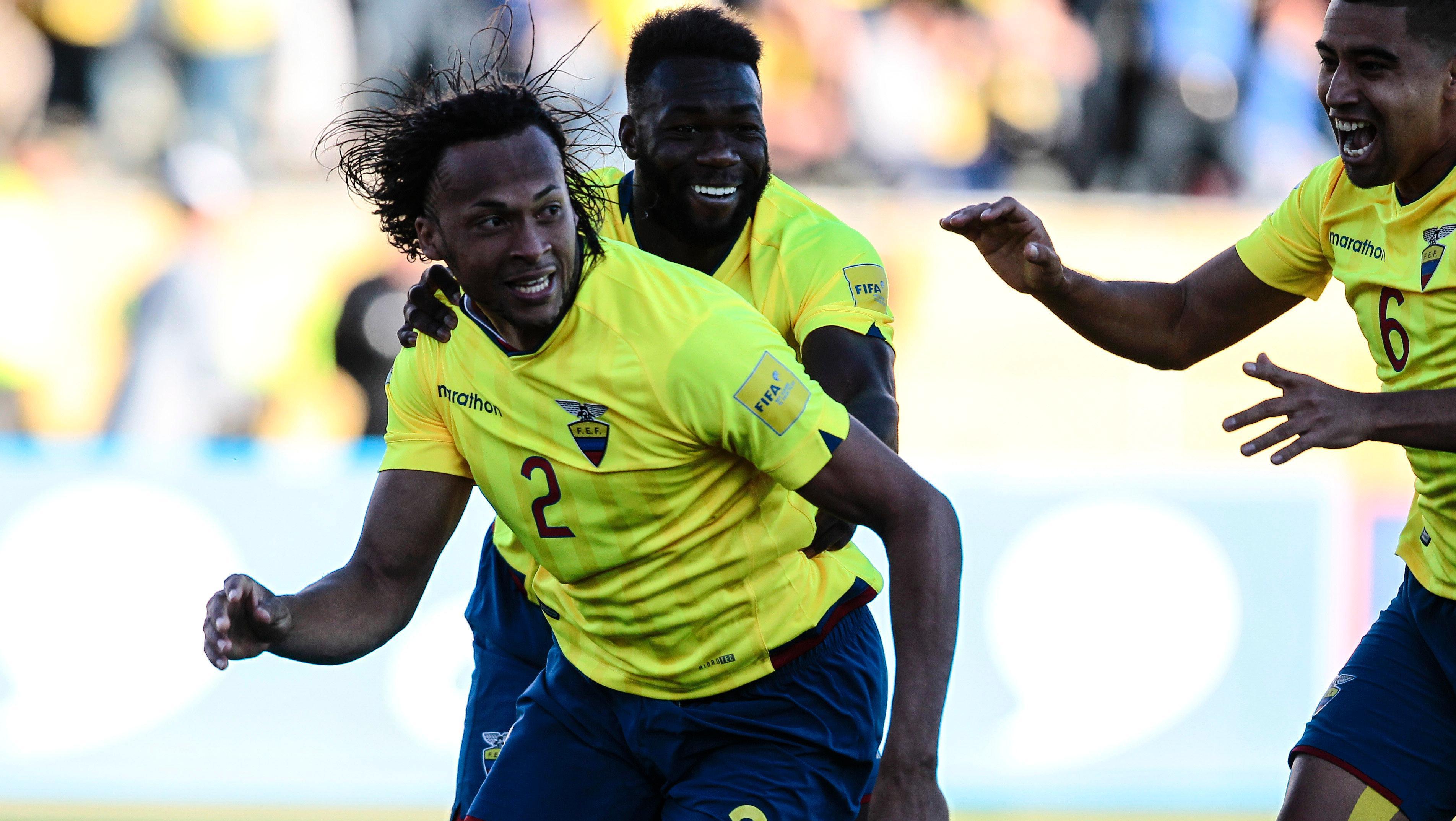 Ecuador se acerca a la clasificación al mundial de Rusia (Télam)