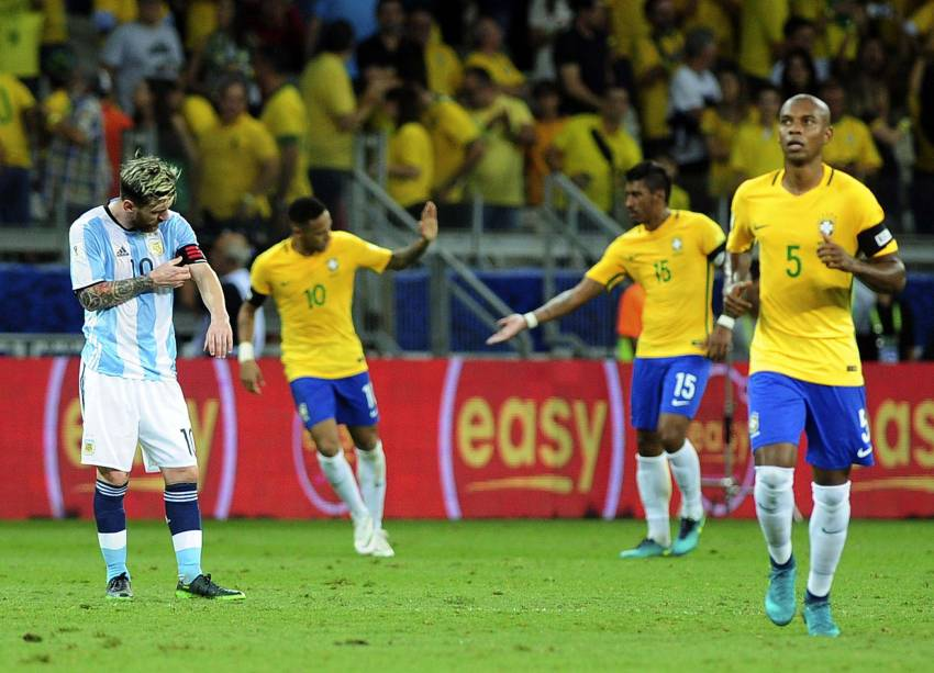 Para olvidar. La goleada con Brasil obliga a una victoria frente a Colombia