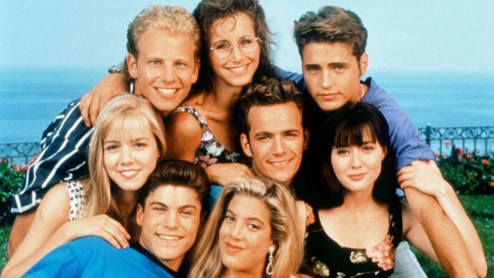 Emotiva reunión de los amigos de Beverly Hills 90210