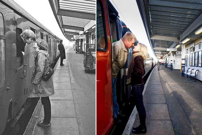Un antes y un después, pero con 40 años de diferencia