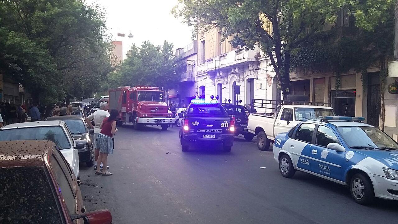 Los Bomberos sofocaron rapidamenteel incendio en el penal de la Séptima (Gentileza Germán Rampo)