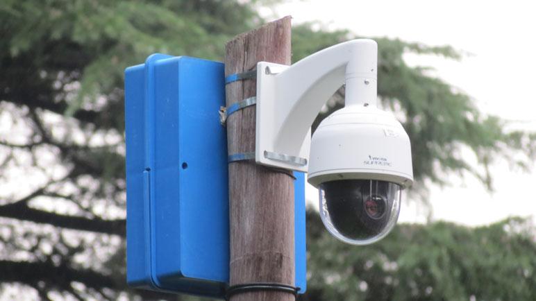 En la ciudad hay alrededor de 30 cámaras instaladas.