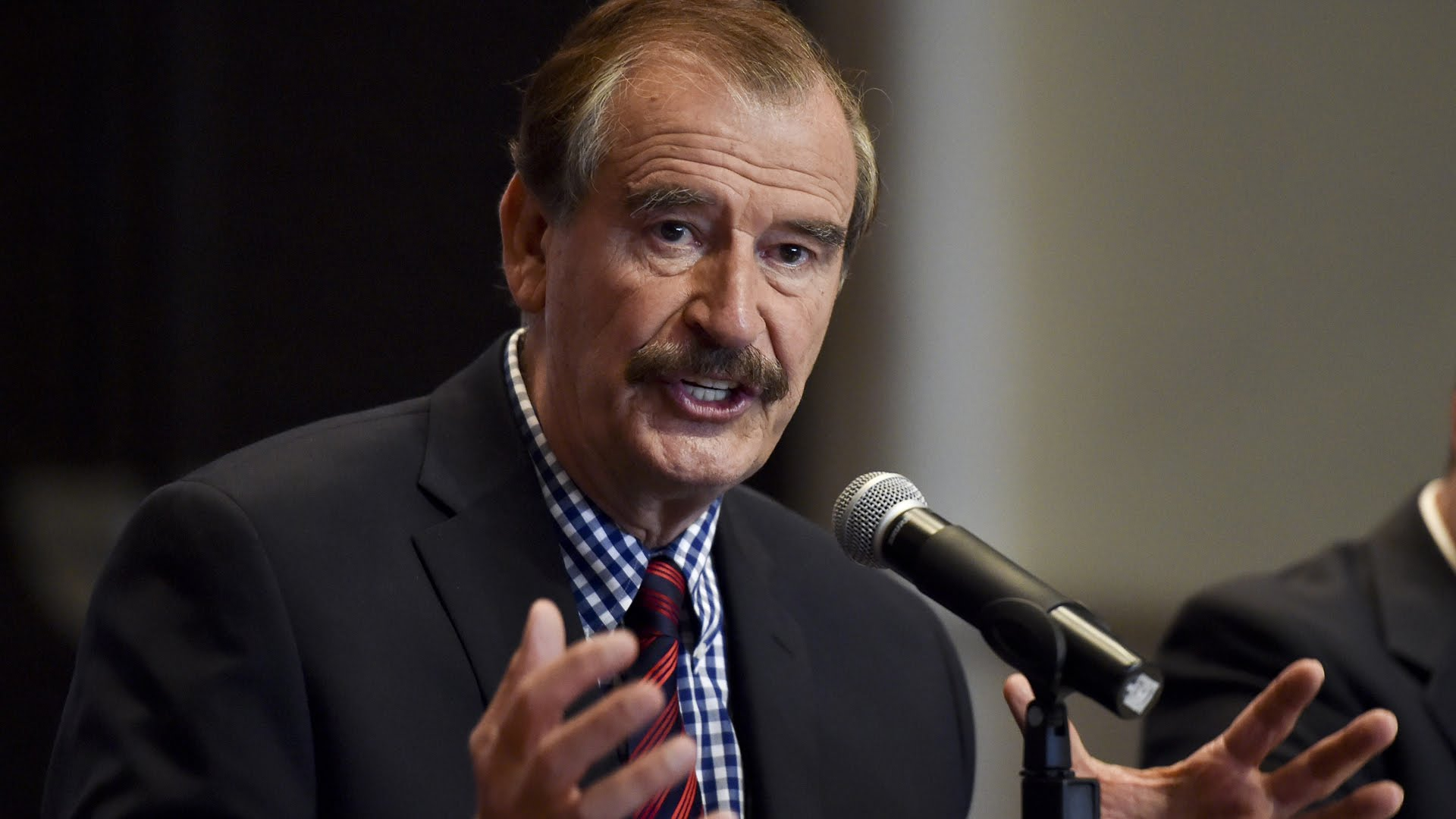Vicente Fox habló sobre el polémico muro que quiere Trump