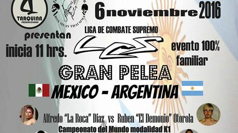 El afiche consagratorio. Otarola festejó el campeonato mundial en México.