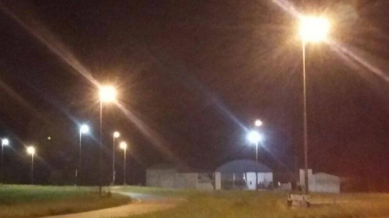 Se colocaron nuevas luminarias en el cruce la 9 y la s26.