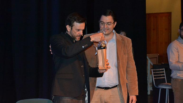 Sarasola reconoció la presencia de Díaz Castelli.
