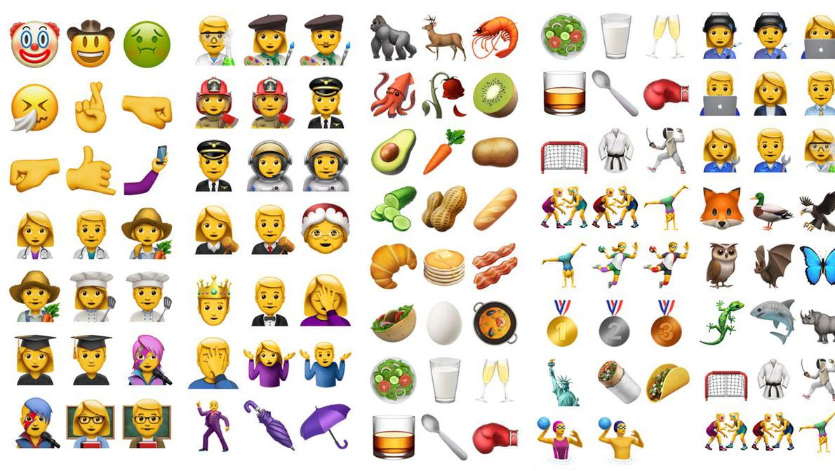 Renovación de emojis en iPhone con el músico inglés como plato fuerte
