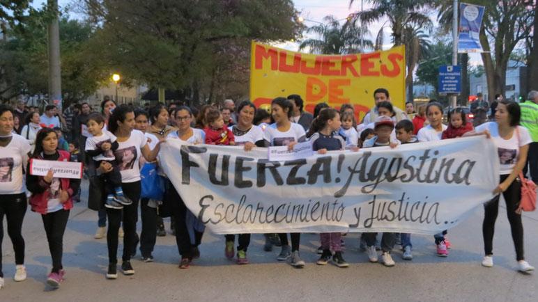La primera marcha realizada el 6 de octubre.