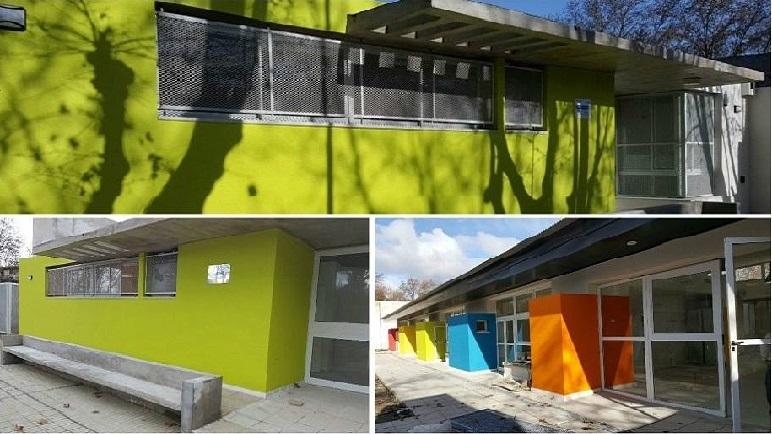 Bigand tiene su nuevo jardín. Las nuevas instalaciones ya fueron inauguradas.
