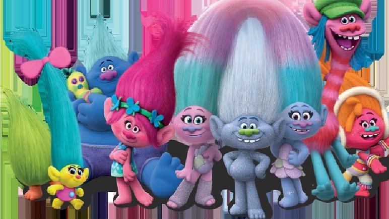 Los Trolls llegan al Cine Libertador este viernes.