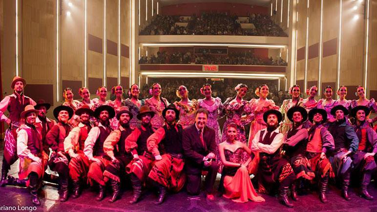 El Ballet Folklórico Nacional trae su arte a localidades de la zona.