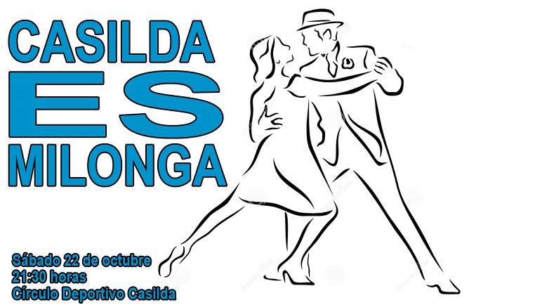 Este sábado, el Círculo Deportivo Casilda, se llena de milonga.