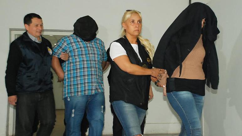 A declarar. Los diez detenidos tienen cita en Tribunales (Foto: Ministerio de Seguridad)