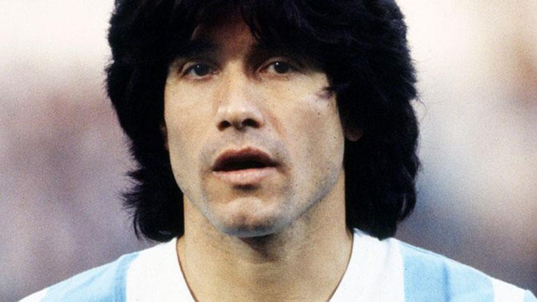 Marcelo Trobbiani con la celeste y blanca.