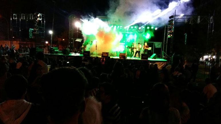 Efecto Tequila hizo el cierre musical de la Expo.