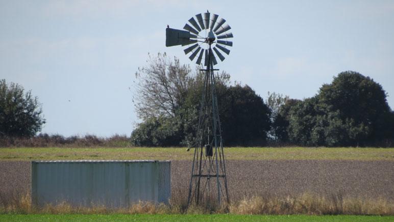 El campo está ubicado a 8 kilómetros del pueblo.
