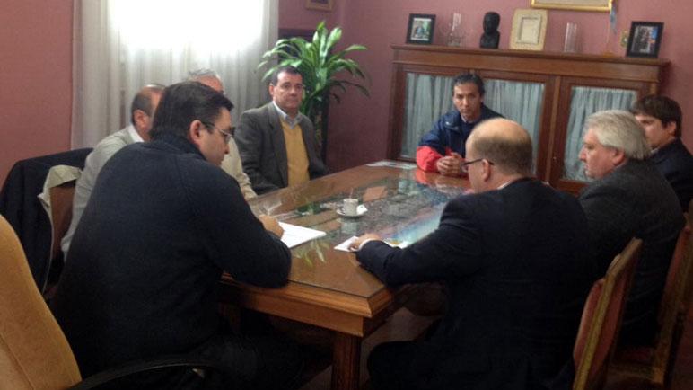 La reunión se desarrolló en el municipio casildense.