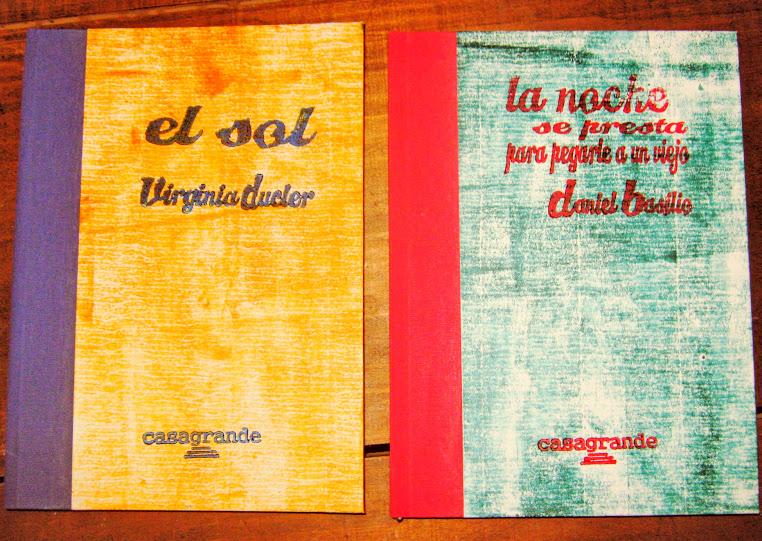 La editorial ya presentó el libro de Virginia Ducler y el de Daniel Basilio