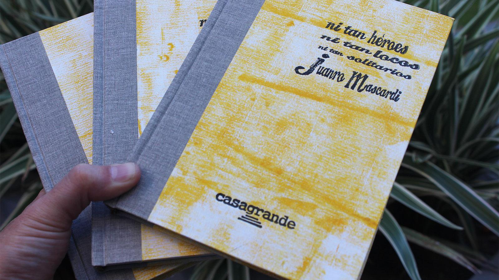 El libro de Mascardi será el último en presentarse.